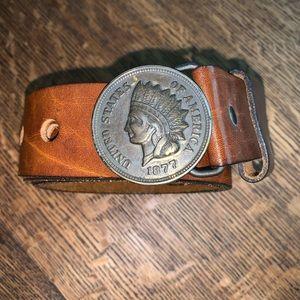 Accessories - United States of America medallion belt RARE(cc1)